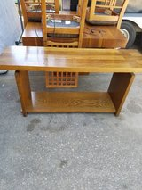 Solid wood table or TV stand in Kingwood, Texas