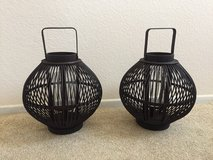 Pair of lanterns in Camp Pendleton, California