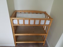 Baby changing table with pad in Glendale Heights, Illinois