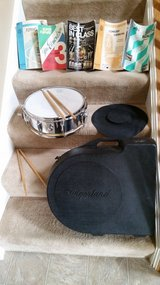 Slingerland snare drum and case in Sandwich, Illinois