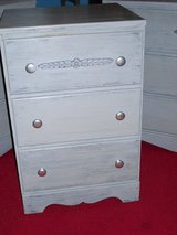 gray nightstand in Glendale Heights, Illinois