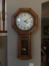 Howard Miller Ansley Wall Clock with chimes in Chicago, Illinois