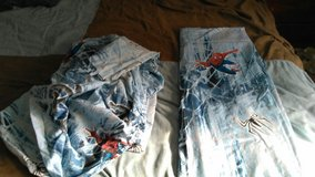 Spiderman 3 sheet set in Fort Campbell, Kentucky