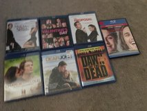Blu rays most new a couple open like new in Vacaville, California