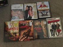 DVDs new a couple Opened like new in Travis AFB, California