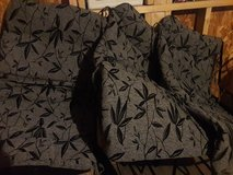 Patio chair cushion set  (4) in Chicago, Illinois