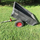 Rubbermaid Dumping 10 Cubic Foot Lawn Trailer in Chicago, Illinois