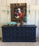 Ornate Navy Dresser in Kingwood, Texas