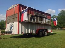 16 ft enclosed BBQ pit trailer in Kingwood, Texas
