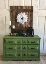 Rustic Green Dresser in Kingwood, Texas