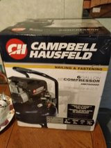 Campbell Hausfeld air compressor in Baytown, Texas
