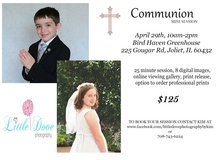 Communion Mini Sessions in Lockport, Illinois