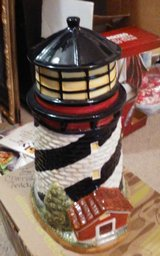 lighthouse cookie jar in Lawton, Oklahoma