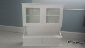 Never Used!  Wall Cabinet with Two Glass Doors in Chicago, Illinois
