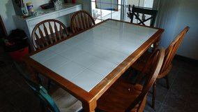 Kitchen table& 6 chairs in Vacaville, California
