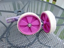 Pink / Puple Training Wheels in Chicago, Illinois