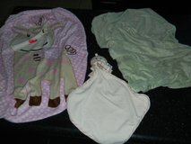 2 Soft Changing Table Pad Beansprout Sheets + Octopus Soother Velour Like Sheet Lot in Kingwood, Texas