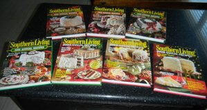 7 Southern Living Annual Recipes Hardcover Book Lot 1995 1998 1999 2001 2003 2004 2006 in Kingwood, Texas