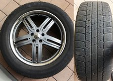Michelin Tires with Rims (M+S) in Ansbach, Germany