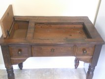 Antique Sewing Machine Table in Conroe, Texas