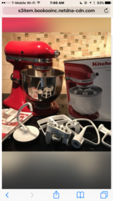 Kitchenaide stand mixer & lots of extras in Kingwood, Texas