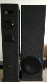 5 FEET TALL! Welton Pro Studio PS2NL-1 Speakers in Fort Campbell, Kentucky