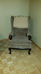 Antique Chair Queen Ann Style in Fort Riley, Kansas