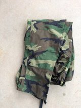 1 pair of woodland camo army goretex pants in Fort Leonard Wood, Missouri