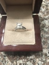 1.97 CT colorless(F) princess cut solitaire diamond engagement ring in Lake Elsinore, California
