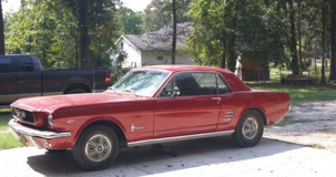 1966 Mustang one family owner in Conroe, Texas