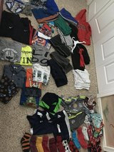Boys clothes sizes are 7,8,m, l in Naperville, Illinois