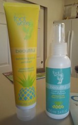 AVON Foot Work Pineapple Chill Exfoliating Scrub & Cooling Spray Duo -  BRAND SPANKING NEW in Oceanside, California