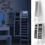 new Home Deluxe Floor Standing Jewelry Armoire with Mirror and LED in Ramstein, Germany