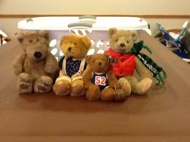4 collectible bears in Shorewood, Illinois