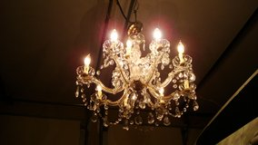 12 electrical candle chandelier/ a formal light fixture in El Paso, Texas