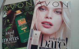 FREE AVON BROCHURES with SAMPLES - while they last in Vista, California