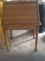 Antique roll top desk in Glendale Heights, Illinois