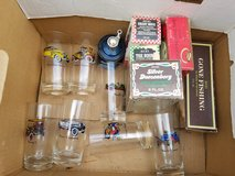 Lot Avon Glass Set/Aftershave in Kingwood, Texas