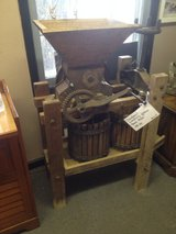 Apple press in Fort Campbell, Kentucky