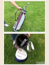 Youth golf clubs and bag in Bolingbrook, Illinois