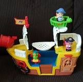 Fisher Price Little People Pirate Ship in Kingwood, Texas