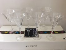 12 Crystal Wine glasses. small in Vacaville, California