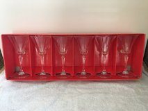11 Crystal Wine glasses. Regular size. in Vacaville, California