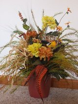 Silk Flower Arrangement in Fort Leonard Wood, Missouri