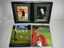 Tiger Woods' Print in Frames and Golf Books in Ramstein, Germany