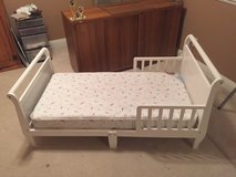 Toddler Sleigh bed with Mattress in Vista, California