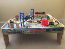 Wooden Train Table in Glendale Heights, Illinois