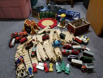 Thomas and Friends wooden railway in Glendale Heights, Illinois