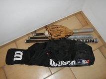 Baseball Bats, Bag and Dudley Glove in Ramstein, Germany