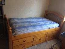 twin captains bed in Vacaville, California